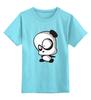 """Детская футболка классическая унисекс """"Панда (Panda)"""" - панда, panda"""
