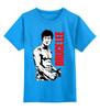 "Детская футболка классическая унисекс ""Bruce Lee"" - karate, bruce lee, fighter, карате, брюс ли"