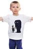 """Детская футболка """"To New York"""" - приколы, прикольные, йорк"""