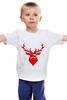 "Детская футболка ""Ho Ho Ho..."" - christmas, deer, reindeer"