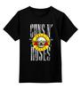 "Детская футболка классическая унисекс ""Guns N' Roses"" - рок, метал, металлист, хэви метал, guns n' roses"