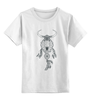 """Детская футболка классическая унисекс """"Skull"""" - skull, ловец снов, dreamcatcher"""