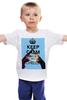 """Детская футболка классическая унисекс """"Keep calm and be an Echelon"""" - 30 seconds to mars, rock, keep calm, 30stm, echelon"""