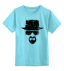 "Детская футболка классическая унисекс ""Heisenberg"" - во все тяжкие, breaking bad, уолтер уайт, heisenberg, cook"