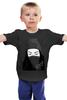 """Детская футболка классическая унисекс """"Девушка Artgasm"""" - black, swag, trap, artgasm"""