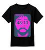 """Детская футболка классическая унисекс """"Kasabian - 48:13"""" - хипстер, инди, indie, kasabian, 48-13"""