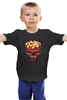 """Детская футболка классическая унисекс """"Букет ромашек"""" - цветы, 8 марта, ромашки, букет"""