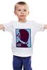 """Детская футболка """"Daft punk               """" - музыка, daft punk, футуризм, электро"""