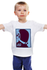 "Детская футболка классическая унисекс ""Daft punk               "" - музыка, daft punk, футуризм, электро"