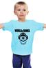 "Детская футболка ""Skull WOT "" - skull, череп, games, игры, игра, game, логотип, world of tanks, танки, wot"