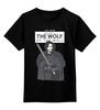 """Детская футболка классическая унисекс """"Джон Сноу"""" - wolf, игра престолов, game of thrones, джон сноу, лютоволк"""