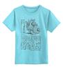 """Детская футболка классическая унисекс """"Я Люблю Ходячих Мертвецов """" - zombie, зомби, i love, ходячие мертвецы, the walking dead"""