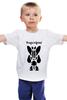 """Детская футболка классическая унисекс """"Watchmen - Rorschach"""" - comics, черно-белая, комиксы, кино, cinema, черное и белое, rorschach, хранители, супергерои, socium"""