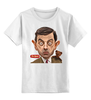 "Детская футболка классическая унисекс ""Mr.Bean"" - mr bean, rowan atkinson, актёр, мистер бин, роуэн аткинсон"