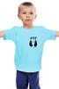 """Детская футболка классическая унисекс """"Панда в Кармане"""" - панда, panda, карман"""