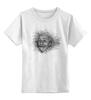 """Детская футболка классическая унисекс """"эйнштейн"""" - альберт эйнштейн, германия, физик, эйнштейн, einstein"""