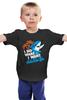 """Детская футболка классическая унисекс """"Акула (Shark)"""" - акула, shark, i do what i want, я делаю то, что я хочу"""