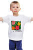 """Детская футболка """"На лугу"""" - цветы, энди уорхол, поп-арт, warhol"""