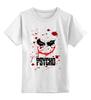 """Детская футболка классическая унисекс """"Джокер (Psycho)"""" - joker, кровь, batman, джокер, псих"""