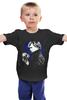 "Детская футболка ""Шерлок (BBC)"" - skull, череп, bbc, sherlock, шерлок"