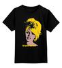 """Детская футболка классическая унисекс """"Brigitte Bardot """" - кино, актриса, брижит бардо, brigitte bardot"""