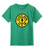 """Детская футболка классическая унисекс """"Gold's Gym / бодибилдинг"""" - gold's gym, бодибилдинг, качки, фитнесс, kinoart"""
