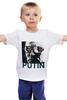 """Детская футболка """"Путин"""" - россия, обама, путин, putin, go hard"""
