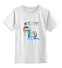 "Детская футболка классическая унисекс ""My Little Pony ""RainbowShy"""" - my little pony, пони"