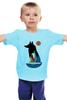 """Детская футболка """"Девочка и Волк"""" - girl, волк, wolf"""