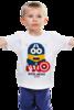 "Детская футболка ""Minion America                             "" - арт, юмор, comics, супергерои, marvel, миньоны, superhero, капитан америка, captain america, minion"