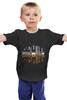 """Детская футболка классическая унисекс """"Towncity"""" - арт, night, город, ночь, отражение, city"""