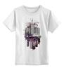 """Детская футболка классическая унисекс """"City Art"""" - арт, рисунок, город, абстракция, city"""