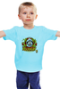 """Детская футболка классическая унисекс """"Юрий Гагарин"""" - ссср, космос, гагарин, юрий гагарин"""