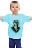 """Детская футболка """"Zomdie Art girl"""" - девушка, zombie, зомби, ходячие мертвецы, the walking dead"""