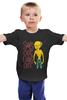"""Детская футболка классическая унисекс """"Мистер Бёрнс на Пляже (Симпсоны)"""" - симпсоны, the simpsons, мистер бёрнс, чарльз монтгомери бёрнс"""