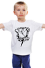 "Детская футболка ""розочка)"" - арт"