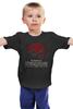"""Детская футболка классическая унисекс """"Batman x Superman"""" - супермен, batman, superman, бэтмен"""