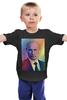 """Детская футболка классическая унисекс """"Путин-Арт"""" - россия, путин, президент, кремль, вперед"""
