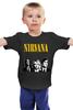 "Детская футболка классическая унисекс ""Nirvana "" - гранж, nirvana, kurt cobain, курт кобейн, нирвана"