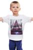 """Детская футболка """"Мистерия"""" - девушка, космос, галактика, galaxy, witchouse"""