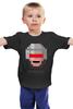 """Детская футболка классическая унисекс """"Robocop 8-bit"""" - робот, 8 бит, полицейский, робокоп"""