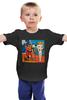 """Детская футболка классическая унисекс """"Basquiat/Жан-Мишель Баския"""" - граффити, корона, snoopy, basquiat, баския"""