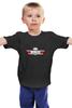 """Детская футболка классическая унисекс """"Invaders x Top Gun"""" - space invaders, пародия, космический захватчик, top gun, горячие головы"""