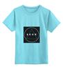 """Детская футболка классическая унисекс """"Футболка с логотипом LOOK"""" - современная, круг, молодежная, квадрат, look, swag, trap, triangle, черный квадрат, абстракт"""