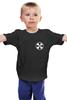 """Детская футболка классическая унисекс """"Лого «Квадрифойл» малое"""" - сталкер, stalker, тёмная душа"""