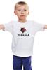 """Детская футболка классическая унисекс """"Cincinnati Bengals"""" - тигр, nfl, американский футбол, cincinnati bengals"""