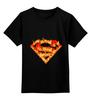 """Детская футболка классическая унисекс """"Супермен"""" - comics, комикс, superman, супергерой, dc, superhero"""