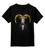 """Детская футболка классическая унисекс """"The Goatfather"""" - новый год, пародия, new year, the godfather, крестный отец, 2015, козел, goat"""