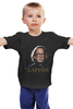 """Детская футболка классическая унисекс """"Clapton"""" - хард-рок, блюз, eric clapton, эрик клэптон, медленная рука, slowhand"""