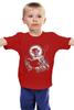 """Детская футболка """"devil"""" - черепа, skulls, демон, сатана, черт"""